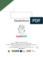 Deutschkurs Leseheft