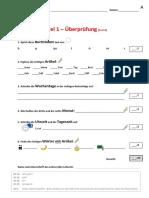 Deutschkurs Testheft