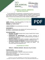Curso Pericia Judicial Ambiental Rui Juliano 2015