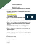 PREGUNTAS DE DIAGNOSTICO DE TALLER DE EMPRENDEDORES