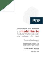 Gramática de formas e o mobiliário modular multifuncional