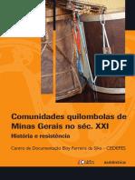 Comunidades quilombolas de Minas Gerais no séc. XXI - História e resistência