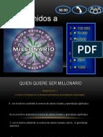 QUIEN QUIERE SER MILLONARIO PRESENTACION - Gabriela Mistral PRIMARIA