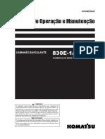 Manual de Operação Manutenção 830E-1AC