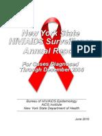 2008NYStateAnnualAIDSSurveillanceReport