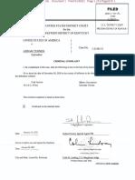 Turner Criminal Complaint