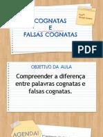 FALSO COGNATO E COGNATO- SORAYA- 7 Ano 2021