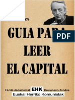 Guia Para Leer El Capital-K