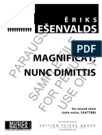 Magnificat y Nunc Dimitis esenvalds_magnificat_nunc_dimittis
