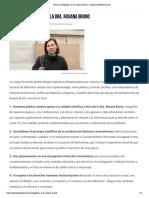 Firmas en Respaldo a la Dra. Roxana Bruno – CienciaySaludNatural.com