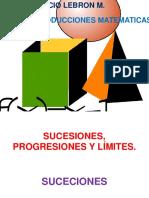 Sucesiones, Progresiones y Límites,Dias Positivas