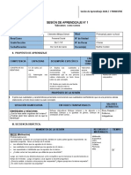 Sesiones Personal Social 5to 1 a 7 (Avance)