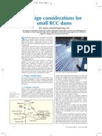Design consideration of R.C.C. Dam