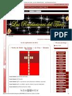 - Forma de Echar las Cartas - La Cruz - Estudio Personal - - Las Revelaciones del Tarot