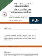 tema Conducta suicida como emergencia psiquiátrica