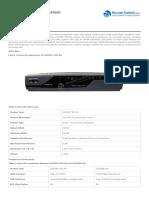 Cisco877 Sec k9 Datasheet