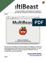 MultiBeast Features