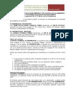CONTRATO DE ARRENDAMIENTO CON CLAUSULA DE ALLANAMIENTO FUTURO