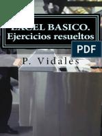 EXCEL BASICO. Ejercicios resueltos - P. Vidales