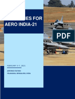 Covid 19 Guidelines for Aero India 21