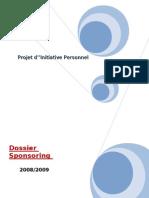 Dossier Sponsoring PIP