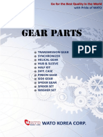 WATO GEAR PARTS CATALOGUE - (2016-05)