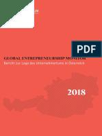 GEM 2018-Bericht Zur Lage des Unternehmertums in Österreich