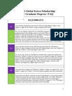 2021 GKS-G Application FAQs (ENGLISH-KOREAN)