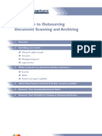 Outsourcing your document archiving