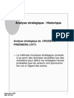 analyse strategique