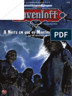 AD&D 2E - Ravenloft (a Noite Em Que Os Mortos Caminham) (Impressão)
