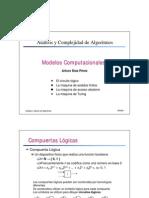 Análisis y Complejidad de Algoritmos-Modelos computacionales
