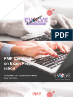 PMP Exam Prep  2021 Sample Module 1 Instructors Materials from EVOLVE