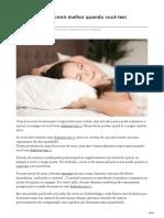 8 Maneiras de Dormir Melhor Quando Você Tem Diabetes