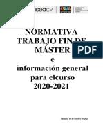 NORMATIVA TRABAJO FIN DE MÁSTER 20-21[9394]