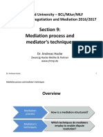 Mediation Process - Andreas Hacke