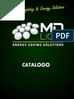 Catalogo Md Light Fichas técnicas
