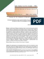 A educação ambiental no ensino superior brasileiro do panorama nacional às concepções de alunos (as) de pedagogia na Amazônia