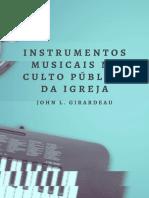 Instrumentos musicais no culto público da igreja