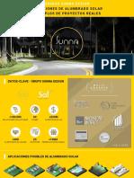 Alumbrado Solar y Ejemplos de Proyectos Eurocircuitos