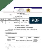 Correction-Examen-Regional-Français-collège3-2013-masa