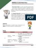 1) Primera Clase Práctica (Álgebra1)