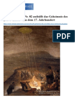 "Phönix-Journal Nr. 02 enthüllt das Geheimnis des ""UFO-Bildes"" aus dem 17. Jahrhundert"