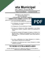 Plan de Desarrollo Urbano Local. Municipio Carrizal