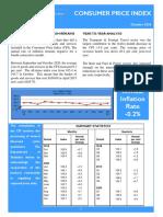 Consumer Price Index - Oct 20