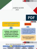 PPT PLANIFICACION 2021