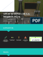 APLICACIONES DE LA METROLOGIA (1)