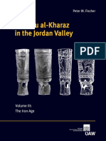 Tell Abu Al-Kharaz in the Jordan Valley - Peter M. Fisher