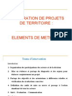 2.ELABORATION DE PROJETS DE TERRITOIRE