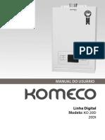 Komeco20di - Manual